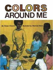 Colors Around Me by Vivian Church - Paperback - from Discover Books and Biblio.com