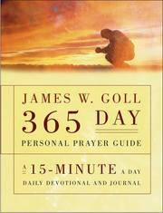 James W. Goll 365 Day Personal Prayer Guide James W Goll