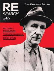 RE/SEARCH #4/5: A Special Book Issue