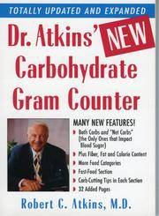 Dr Atkins' New Carbohydrate Gram Counter