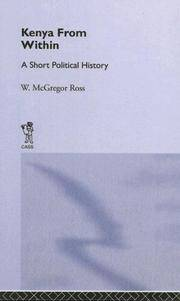 image of Kenya from Within: A Short Political History (Cass Library of African Studies: General Studies)