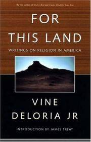 For This Land : Writings on Religion in America
