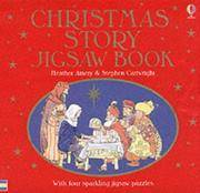 The USBORNE Christmas Story Jigsaw Book (with 4 sparkling jigsaw puzzles)