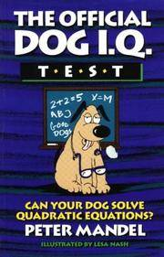 The Official Dog I.Q. Test