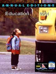 Annual Editions  Education 00/01