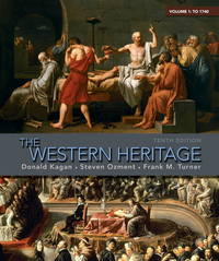 image of The Western Heritage Volume 1 by Donald Kagan