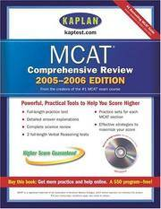 Kaplan MCAT Comprehensive Review 2005-2006; with CD ROM