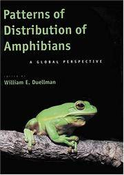 Patterns of Distribution of Amphibians: A Global Perspective