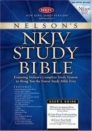 NELSON'S NKJV STUDY BIBLE New King James Version #2882N