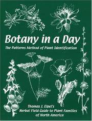 image of Botany in a Day:  The Patterns Method of Plant Identification