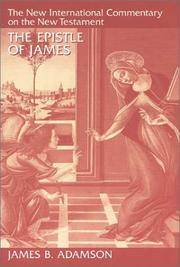 The Epistle of James (New International Commentary on the New Testament)
