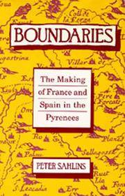 Boundaries: The Making of France and Spain in the Pyrenees