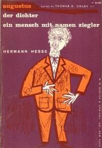 Augustus / Der Dichter / Ein Mensch mit Namen Ziegler (German Language Edition).