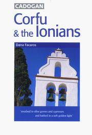 Corfu & the Ionians: Cadogan