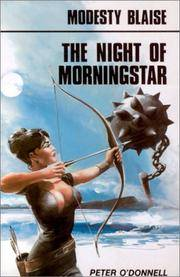 image of The Night of Morningstar: Modesty Blaise