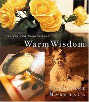 image of Warm Wisdom From Catherine Marshall