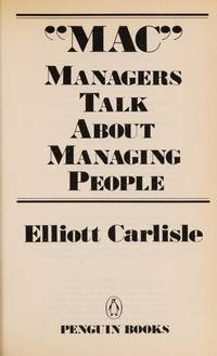 MAC: Managers Talk About Managing People