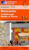 image of Doncaster, Conisbrough, Maltby and Thorne (Explorer Maps)