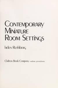 Contemporary Miniature Room Settings