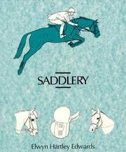 Saddlery.  Modern equipment for horse and stable