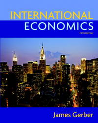 image of International Economics (5th Edition) (The Pearson Series in Economics)