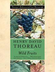 image of Wild Fruits: Thoreau's Rediscovered Last Manuscript