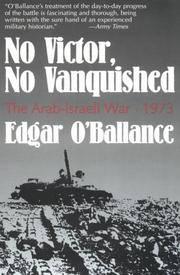 No Victor, No Vanquished: the Arab-Israeli War