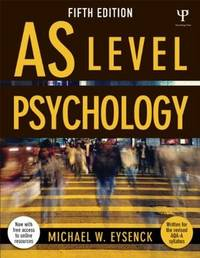 AS level psychology, 5th ed.