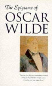 image of The Epigrams of Oscar Wilde