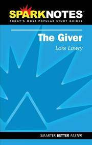 image of The Giver (SparkNotes Literature Guide) (SparkNotes Literature Guide Series)