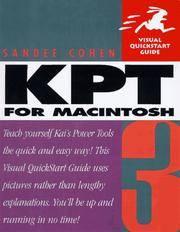 Kai's Power Tools 3 for Macintosh (Visual Quickstart Guide Series)