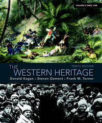 image of The Western Heritage Volume 2 Donald Kagan