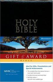 NIV Gift &  Award Bible, Revised