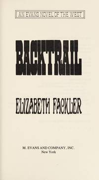 Backtrail (Evans Novel of the West)