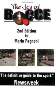 The Joy of Bocce - 2nd Edition
