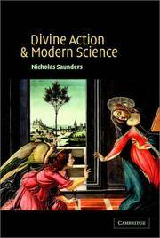 Divine Action and Moderate Science by  Nicholas Saunders - Paperback - 2002 - from Windows Booksellers and Biblio.com