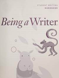 BEING A WRITER, GRADE 3, VOL 1, TEACHER'S MANUAL (BEING A WRITER GRADE 3)