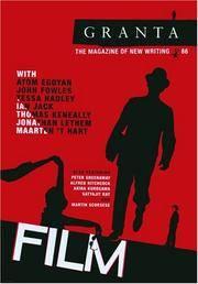 Granta 86: Film: The Magazine of New Writing (Granta: The Magazine of New Writing)