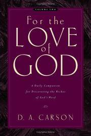 For the Love Of God Volume 2