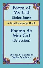 Poem Of My Cid/ Poema De Mio Cid: Selections/seleccion, A Dual-language Book by  Edit. Trans  Stanley - Paperback - 2005 - from Adagio Books and Biblio.com