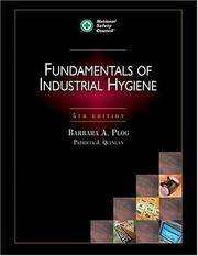 Fundamentals of Industrial Hygiene, Fifth Edition