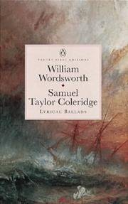 Lyrical Ballads (Penguin Classics: Poetry First Editions)