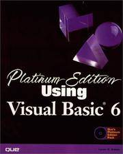 Platinum Edition Using Visual Basic 6 (Using ... (Que))