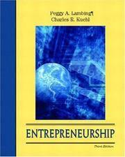 Entrepreneurship (With CD-ROM)