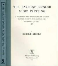 The Earliest English Music Printing