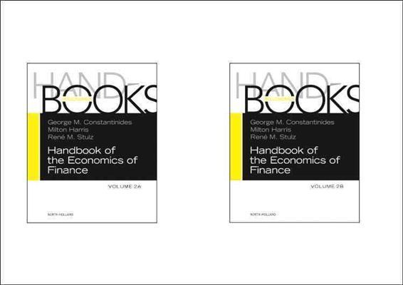 Handbook of the Economics of Finance SET:Volumes 2A & 2B