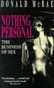 Nothing Personal - the Business of Sex