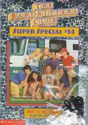 BSC in the USA (The Baby-Sitters Club Super Special, #14) by Ann M. Martin