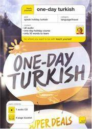 Teach Yourself One-day Turkish