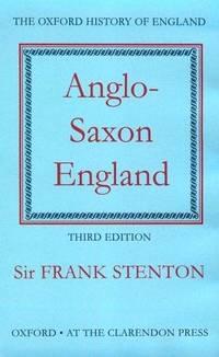 image of Anglo-Saxon England (Oxford History of England)